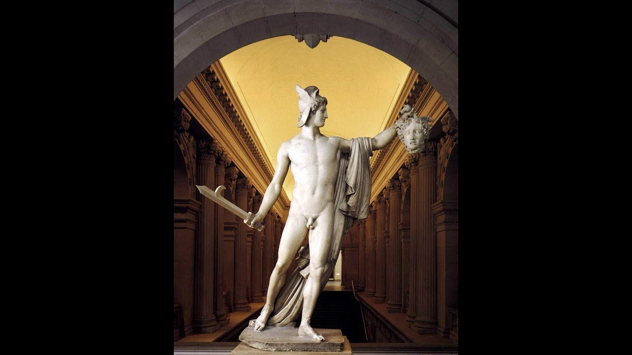 Perseus With The Head Of Medusa Canova