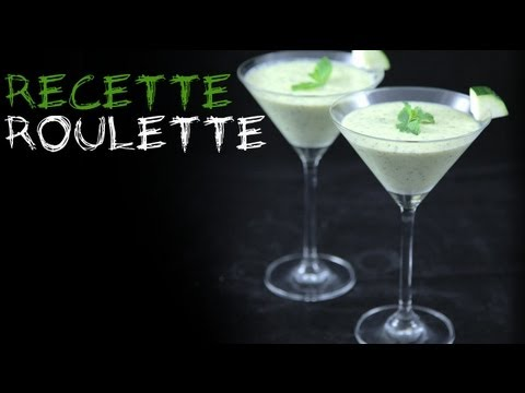 recette soupe froide la courgette youtube. Black Bedroom Furniture Sets. Home Design Ideas