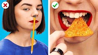 FUNNIEST HIGH SCHOOL HACKS 💦 Trucs Et Astuces Pour L'École Aussi Amusants Qu'Utiles