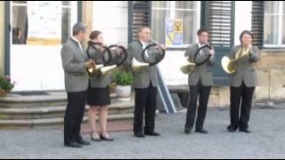 Trubači OMS Přerov J.Garláthy: Téma Náměšť parforce horn in ES