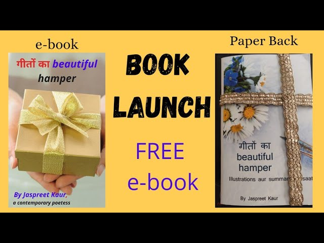Debut Book Launch- a book by a mom