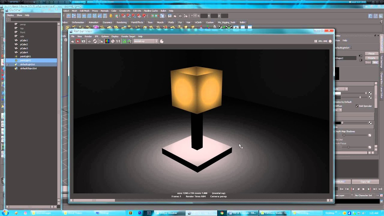 CIT VT3600 Maya Tutorials - 44 Advanced Lighting & CIT VT3600 Maya Tutorials - 44 Advanced Lighting - YouTube azcodes.com