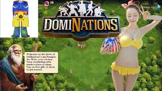 NOOBS PLAY DomiNations LIVE