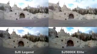 GoPro Hero 5 - SJ6 Legend - SJ5000X Elite - M20 - Xiaomi Yi 4K - Eken H8 Pro Comparison test - Day