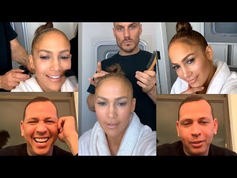 Jennifer Lopez & Alex Rodriguez | Instagram Live Stream | 3 March 2019