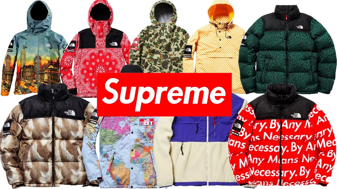 4715c09288 ALL SUPREME X THE NORTH FACE JACKETS EVER MADE - YouTube