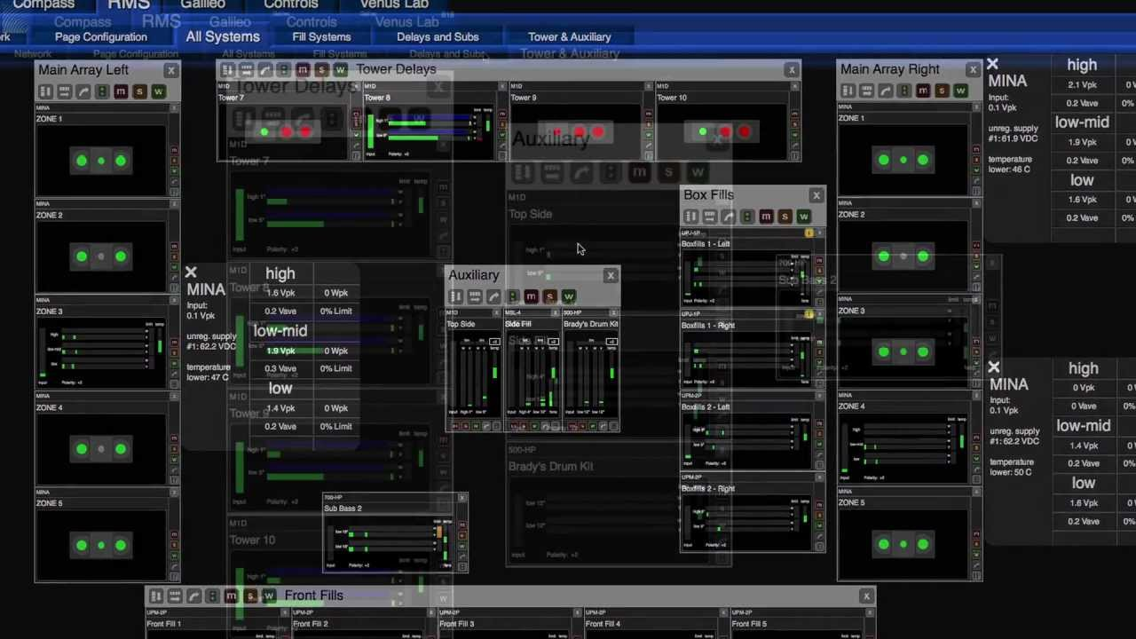 New Compass Rms Remote Monitoring System From Meyer Sound