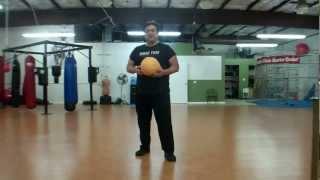 Joe Louis Dodge Ball Knee Squeeze