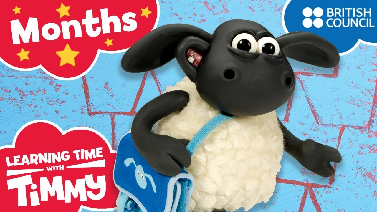 Months of the Year | Learning Time with Timmy | Learning Fun | Cartoons for Kids