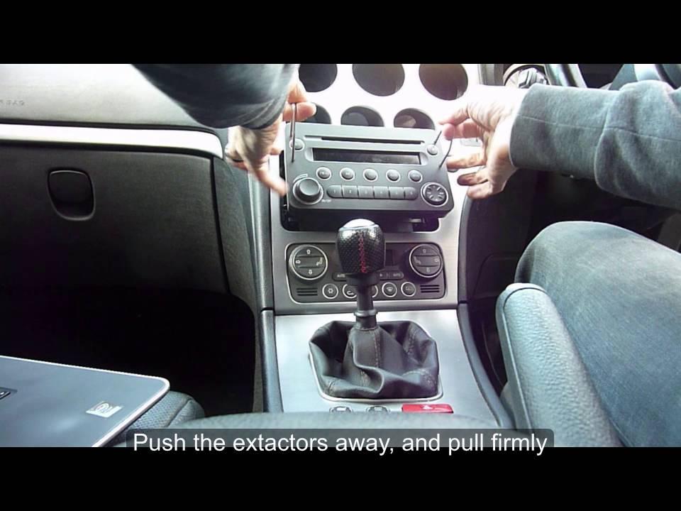 Alfa 159 remove centre console, radio and heater control panel - YouTube