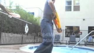 The Aweffect Kids Reverse and SloMo Pool Jump