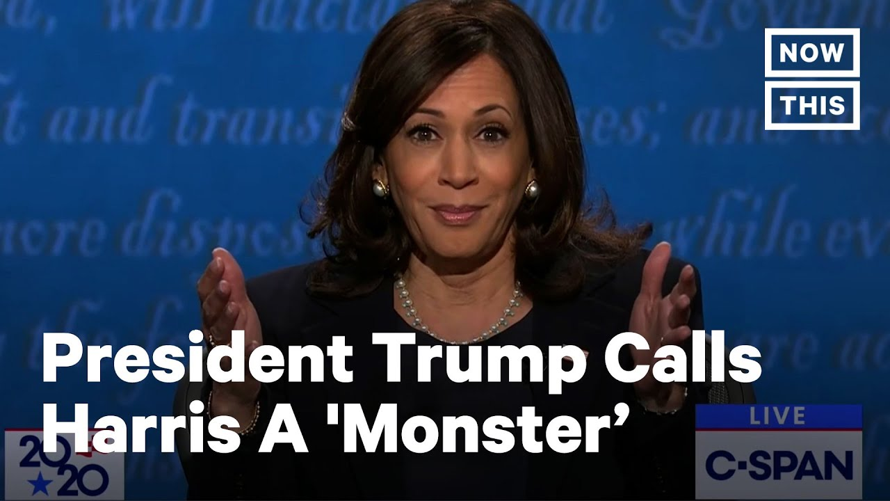 Trump Calls Kamala Harris 'This Monster' After VP Debate | NowThis