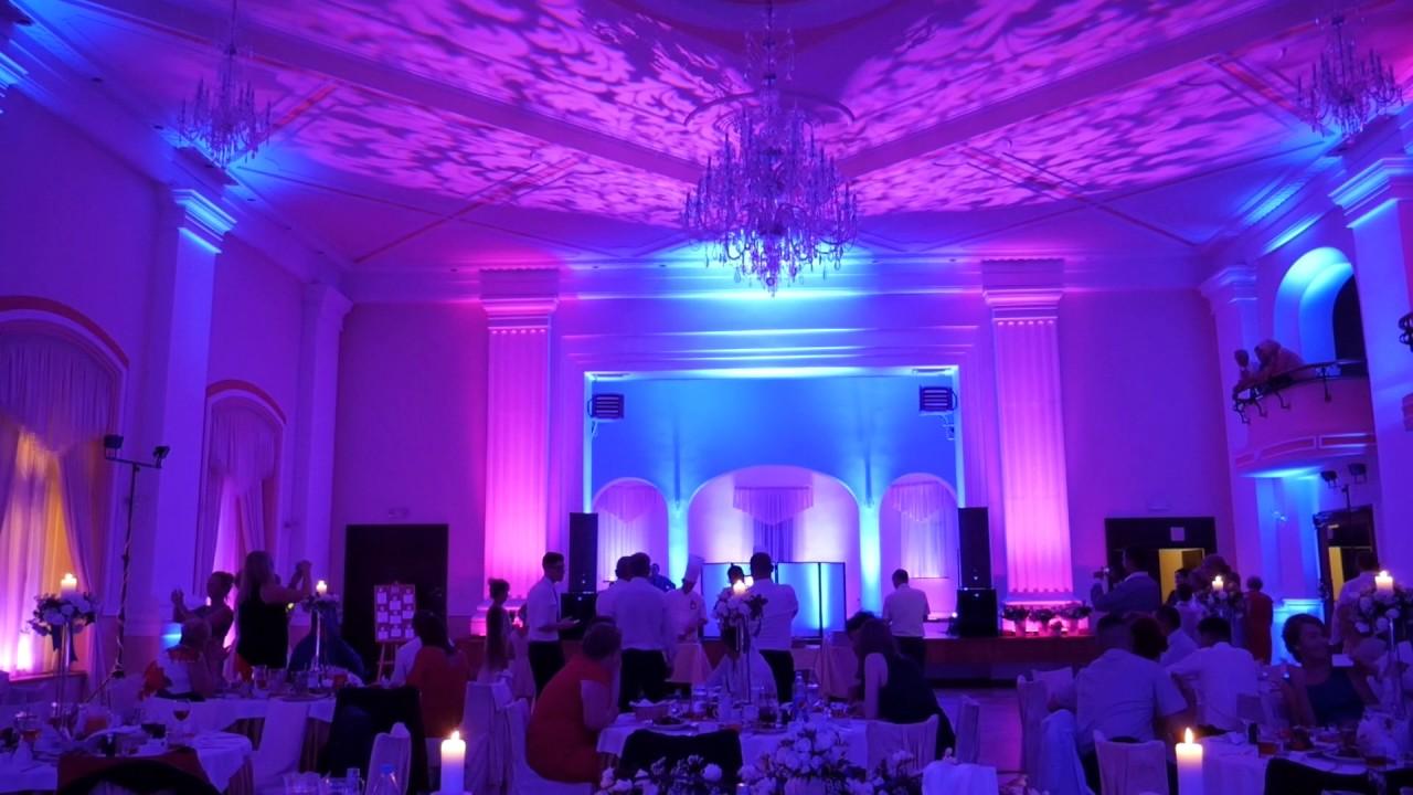 Dekoracja Sali światłem Hotel Adria Ruda śląska Youtube