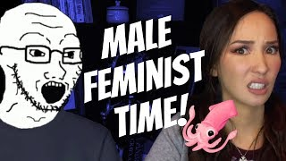 SNIVELLING Male Feminists Blame ALL Men For R*pe Culture