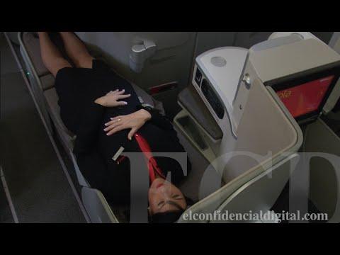 Vea la nueva 'Business Class' de Iberia: una butaca-cama que da masajes