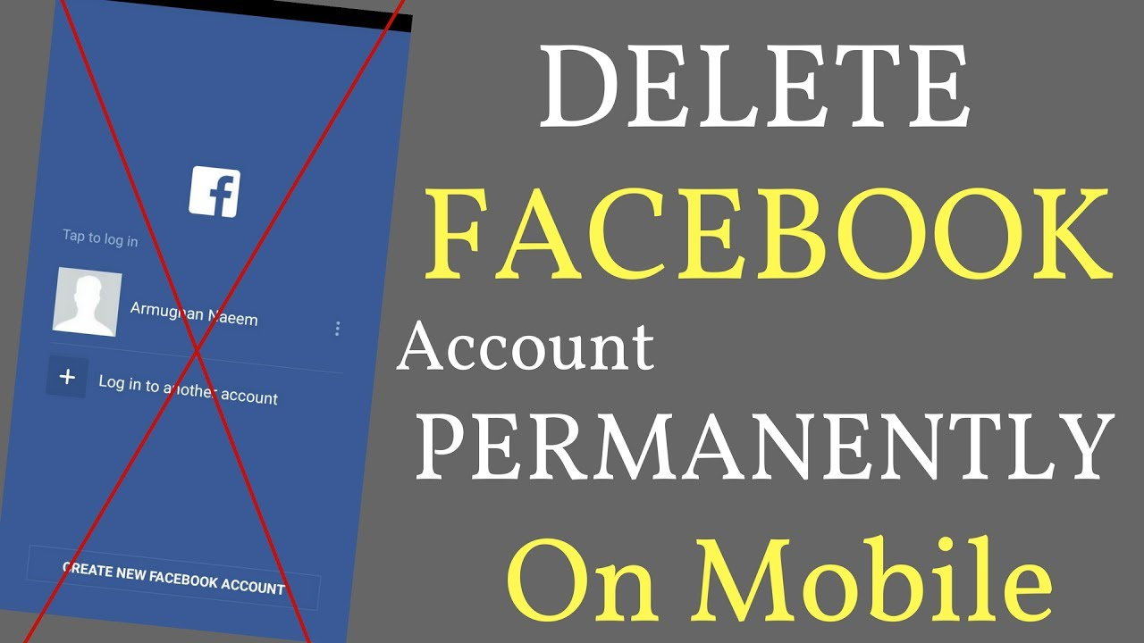 How To Delete Your Facebook Account Permanently On Mobile Urdu