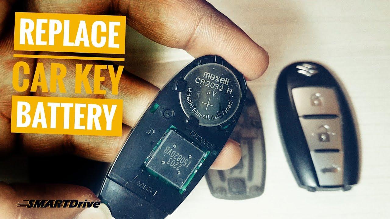 Maruti Suzuki ciaz How to replace Car Remote/key Battery ? : SMARTDrive333