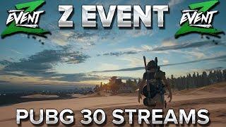 Z Event #2 : PUBG à 30