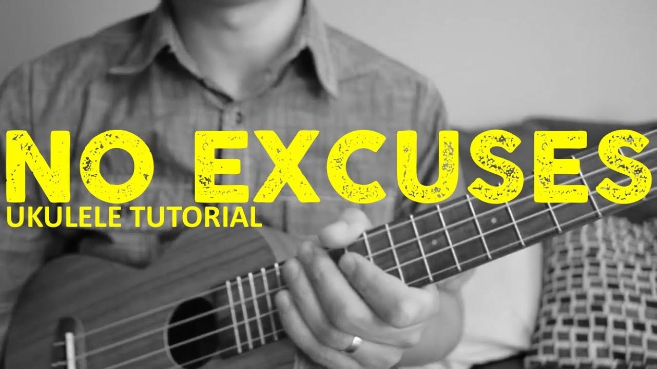 Meghan Trainor - No Excuses - EASY Ukulele Tutorial ...