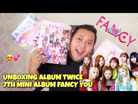 TWICE 7TH MINI ALBUM FANCY YOU UNBOXING [Bahasa Indonesia]
