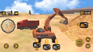 Heavy Excavator Simulator PRO 2021 - City Construction Builder - excavator games - Android Gameplay screenshot 2