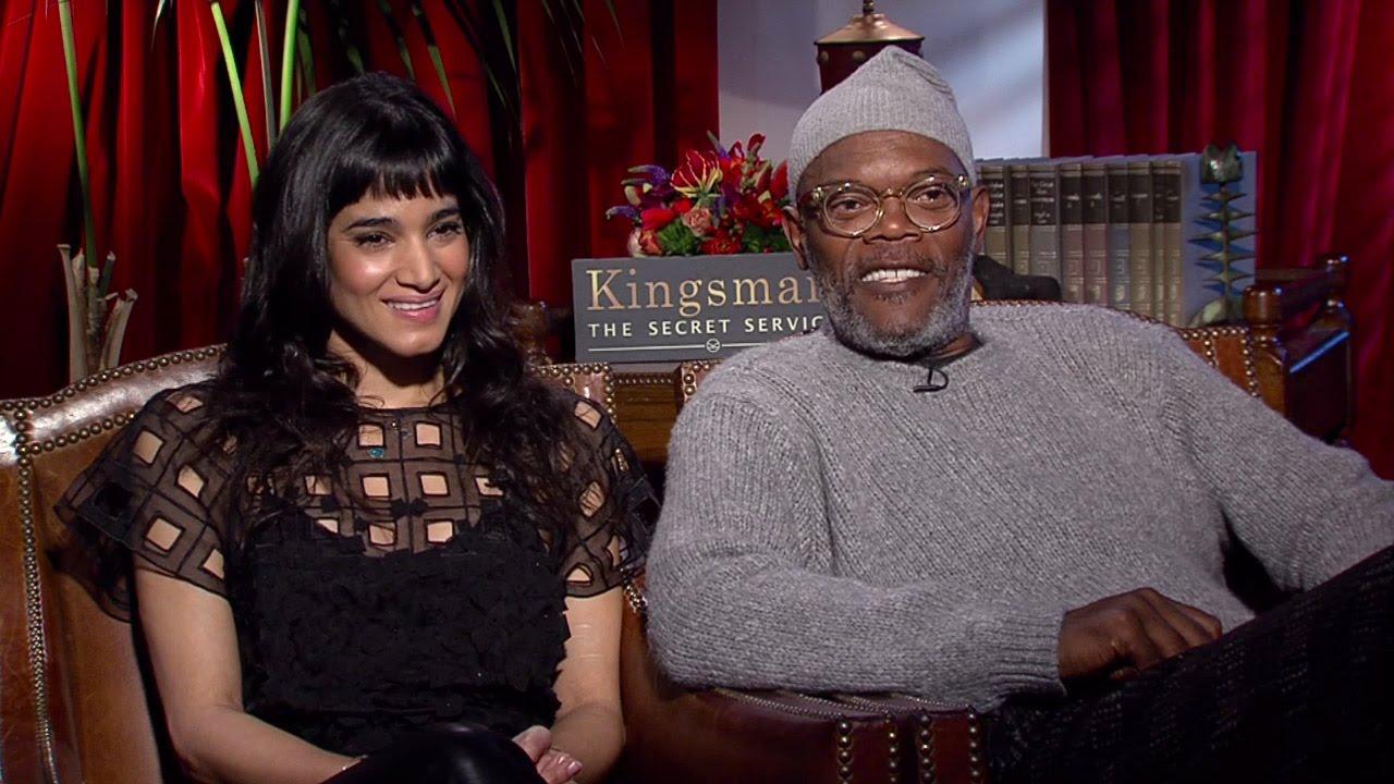 Kingsman The Secret Service Interview: Samuel L. Jackson & Sofia Boutella