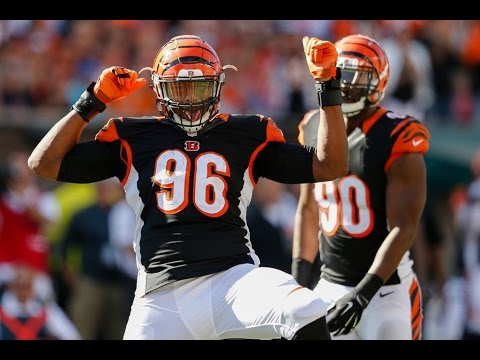 Carlos Dunlap | The Great Wall | Cincinnati Bengals NFL Career Highlights |