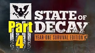 State of Decay Year 1 Gameplay Playthrough Part 4 - Military Contacts (PC)