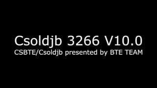 Video Csoldjb 3266 V10.0 trailer (COMMING SOON on tieba baidu!) download MP3, 3GP, MP4, WEBM, AVI, FLV November 2018