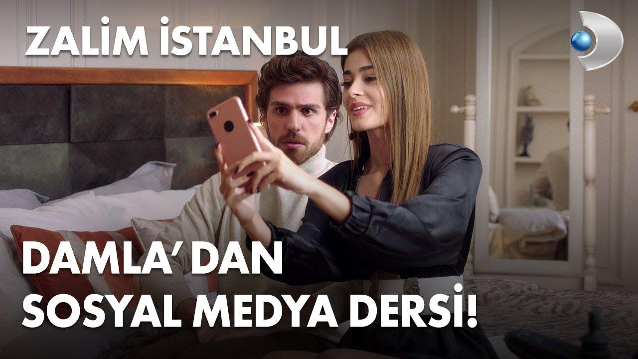 Damla'dan, Nedim'e komik sosyal medya dersleri! - Zalim İstanbul 19. Bölümölüm