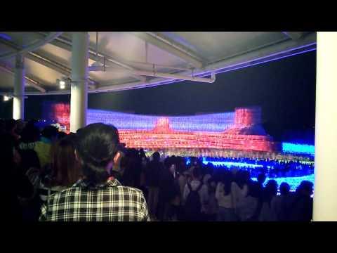 12月の光のイルミナーションも日本の資源だよ。