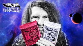 ULTRA & BURLY SLINKY?! New products from Ernie Ball.