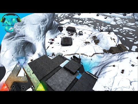 Raiding the Iceberg Base - Sending the Enemy Running! ARK Survival Evolved - PvP Season E34
