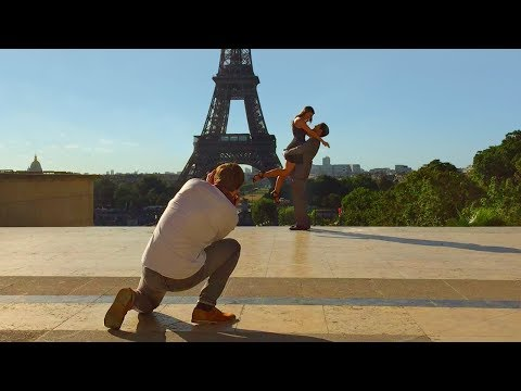 Paris Walk - EIFFEL TOWER to the TROCADÉRO on a Summer's Morning - France