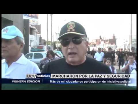 Víctor Larco: Ciudadanos marcharon por la Paz y seguridad