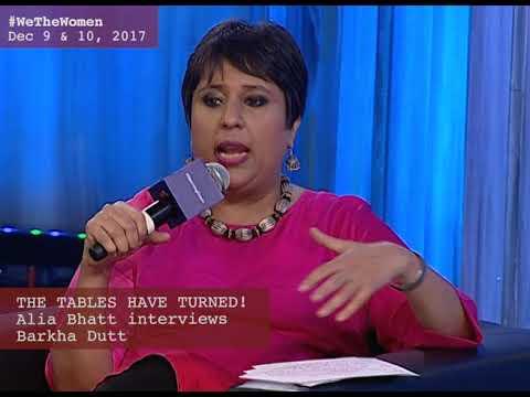 ROLE REVERSAL: ALIA BHATT GRILLS BARKHA DUTT AT #WeTheWomen