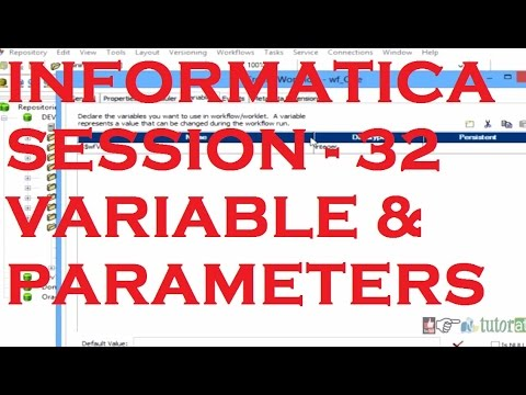 Variable and Parameters - Informatica Tutorial - Session - 32