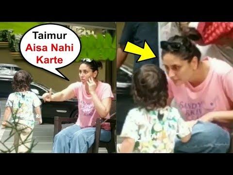 Taimur Ali Khan Gets Scolding From Mom Kareena Kapoor For Misbehaving Mp3