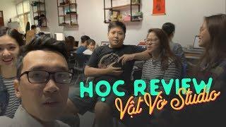 Học review tại Vật Vờ studio - 3 nữ sinh với thầy giáo Vinh