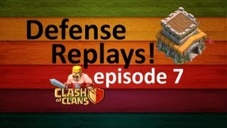 Clash Of Clans - Defense Replays - Episode 7 - TH8