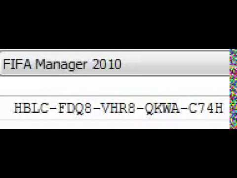 Fifa Manager 2010 Serial Product Key Pc Working 2014 Youtube