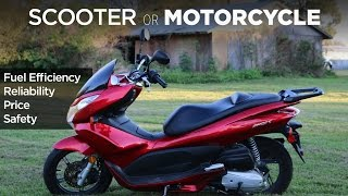 Why I Love My Scooter | Scooter vs. Motorcycle vs. Car
