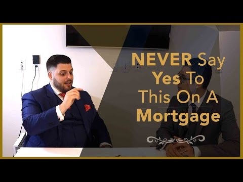 Real Estate Interview - NEVER Say Yes To This On A Mortgage - Financial Planner Perspective