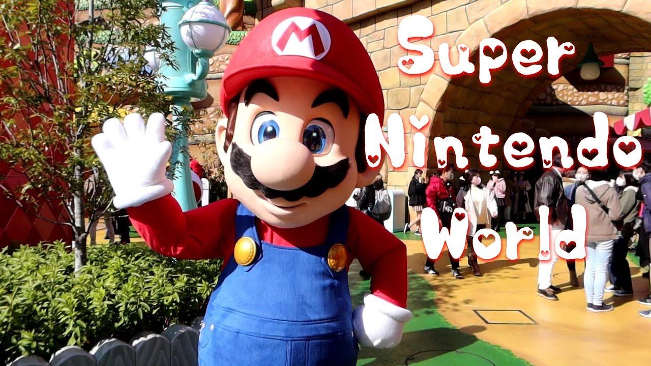 ユニバ スーパーニンテンドーワールドのマリオ・ルイージ・ピーチ姫・キノピオ ミニゲームを紹介【USJ Super Nintendo World】