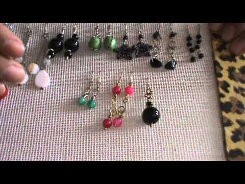 Aretes bisuteria alambre pedreria youtube - Como hacer bisuteria en casa para vender ...