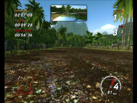 3DFX Plays Sega Rally with DJ Orkidea - Embrace [Orkidea vs. Super8 Mix]