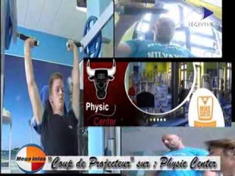 emission commerce Physic Center salle de sport Nilvange