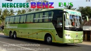 Greenline Travels Mercedes Benz Multi Axle Bus