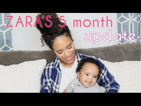 Zara's 5 Month Update! & ANNOUNCEMENT! (FINALLY!)