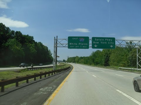 Driving from White Plains to NYC